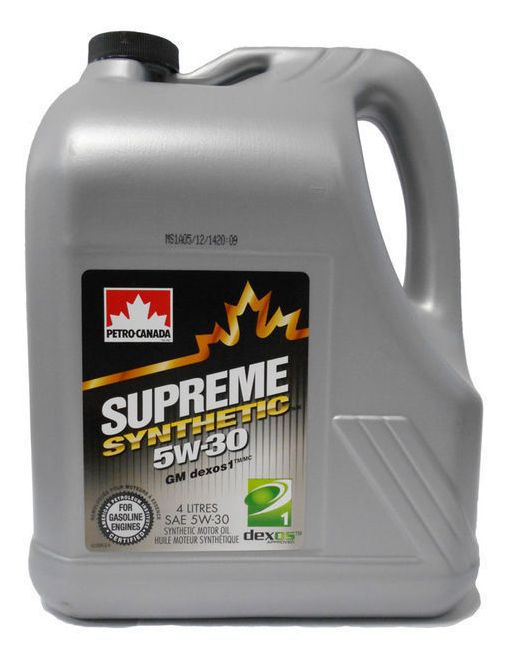 Petro Canada Supreme Synthetic 5W-30 4 литра